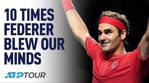 10 Times Roger Federer Blew Our Minds | TOP 10