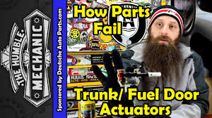 how the vw trunk and fuel door release motor fails how the vw trunk and fuel door release motor fails