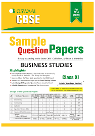 oswaal cbse sample question papers for class business studies facebook