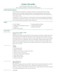 Collom And Carney Clinic Compliance Auditor Resume Sample