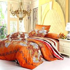 orange and green bedding sets beautiful green and orange comforter set rust orange white and purple western paisley pop print with orange and green bedding