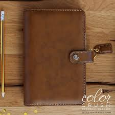 Websters Pages Color Crush Walnut Personal Planner Binder