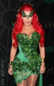 kim kardashian costume diy photos kim kardashian in a poison ivy costume at midori