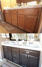 update your bathroom cabinets for under