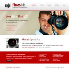 Photography Website Templates Unique Photo Life Web Template 28 Art Photography Website