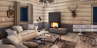 Kachelofen Modell Monolith Fire Moderne Kamine