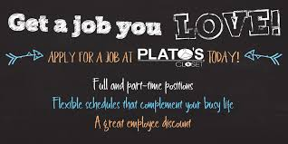 get a job you love apply at plato s closet today