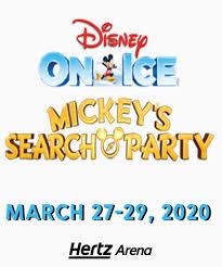 Disney On Ice Presents Mickeys Search Party Hertz Arena