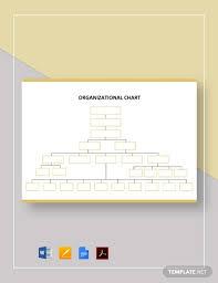Blank Organizational Chart Template Organizational Chart 17 Free Word Pdf Documents Download
