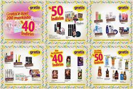 gratis kozmetik ürünleri