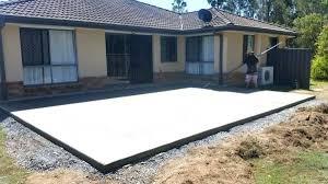concrete slab patio. Slab Patio Ideas Fabulous Concrete Designs And Gravel A