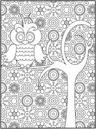 difficult owl coloring page for s free printable coloring pages sheets for kids get the latest free difficult owl coloring page for s