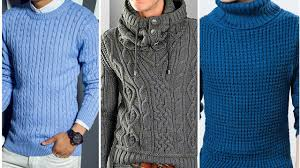 New Sweater Design For Man Men Woolen Sweater Designs Boys Men Knitting Sweater Design