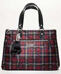 Coach Poppy Tartan Glam. Hmmm how did I miss this