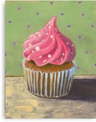 russian pink cupcake canvas print by sivieriart on cupcake canvas print wall art with 10 best gallery wall kitchen images on pinterest gallery wall