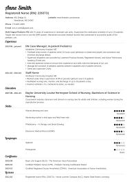 Resume Template For Nursing Job 018 New Grad Nursing Resume Template Ideas Influx