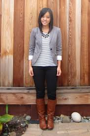 Does Brown And Grey Match Classy 1000 Ideas About Gray Blazer On Pinterest  Blouses Blazers And