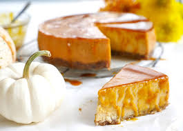 Image result for pumpkin cheesecake