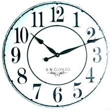 clocks large kitchen wall clock antique contemporary decorative bi oversized red bed bath and