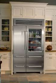 see through refrigerator. Sub-Zero 648PROG 48 Inch Built-in Side-by-Side Refrigerator With 18.4 Cu. Ft. Capacity, 3 Adjustable Spillproof Glass Shelves, Touch-and-Glide Crisper See Through
