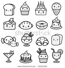 Kawaii Food Coloring Pages Food Coloring Pages Inspirational