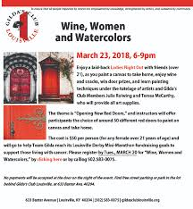 gilda s club louisville news register for wine women and watercolors