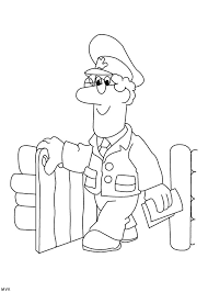 Small Picture Postman Pat Coloring Pages GetColoringPagescom