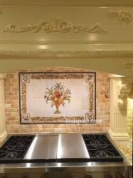 Kitchen Mural Italian Design Still Life Kitchen Tile Backsplash Mural