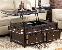 lift top coffee table espresso new caspian with storage shelf jofran