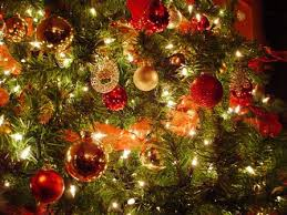 Christmas Ornaments. The Lights on The Tree | Teal's Blog