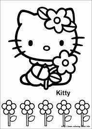 Kleurplaat Hello Kitty Uniek Sarah S Super Colouring Pages Hello