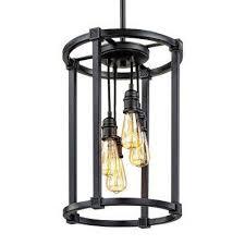 romaro row 4 light antique bronze chandelier with vintage bulbs