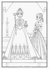 Kleurplaten Prinsessen Frozen Afbeelding 55 Elegant Kleurplaat