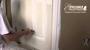 How To how to paint a door with a roller images : How to paint a door like a pro - YouTube