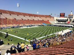 Los Angeles Memorial Coliseum Section 111 Rateyourseats Com