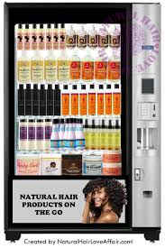 Affordable Care Act Vending Machines Extraordinary Introducing The 48st Ever Natural Hair Vending Machine Finally