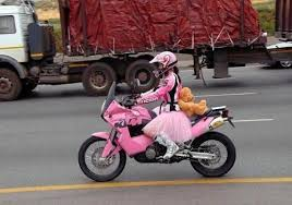Lustige Motorradbilder