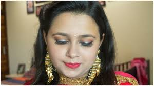 indian wedding guest makeup at home in hindi easy party makeup and hairstyle at home in hindi