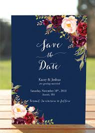 best 25 navy save the dates ideas on pinterest rustic wedding Wedding Invitations Or Save The Dates bohemian save the date card, fall wedding save the dates, wedding announcement, marsala burgundy navy blush, photo save the date kacey wedding invitations and save the date sets
