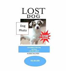Dog Flyer Template Free Lost Dog Reward Template Free Flyers Templates Download Missing Pet