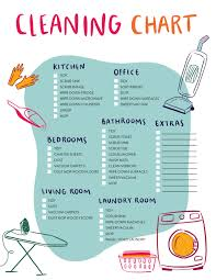 House Cleaning Chart Our House Cleaning Schedule And Printable Checklist Clean