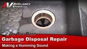 garbage disposal repair diagnostic humming not working insinkerator badger kitchenaid waste king you