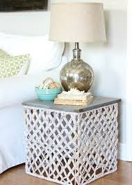 target summer basket becomes a chic side table hymns and verses oak coffee with wicker ba