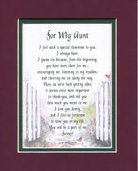Funny Aunt Poems