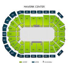 Maverik Center Seating Chart Maverik Center Tickets