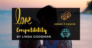 Cancer And Gemini Compatibility Chart Gemini And Cancer Compatibility From Linda Goodmans Love Signs