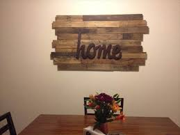 10 diy wood pallet wall art ideas