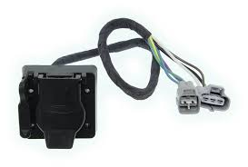 hopkins plug in simple vehicle wiring harness for factory tow package 7 way and 4 flat connectors hopkins custom fit vehicle wiring hm43374