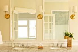 brass bathroom lighting fixtures. how to mix metals the bathroom brass bathroom lighting fixtures o
