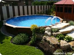 basic aboveground pool landscaping with above ground designs plan 10 affordable above ground swimming pools e21
